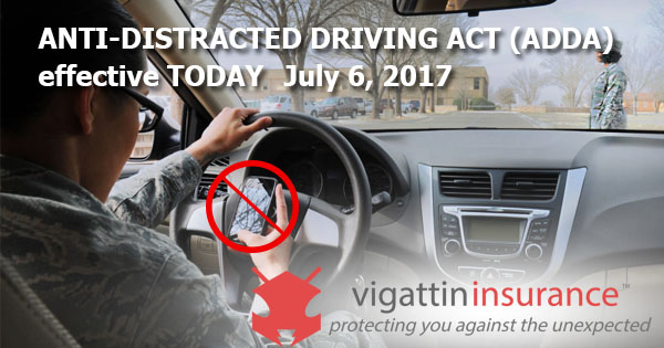 anti distracted law